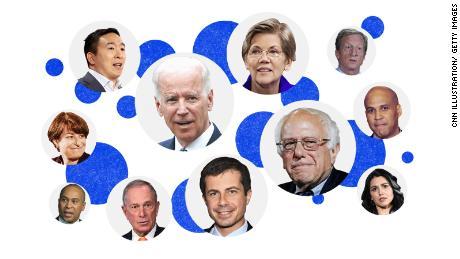 Joe Biden è l'unico democratico rimasto a candidarsi alla presidenza. Sono gli altri che hanno già partecipato alla gara.
