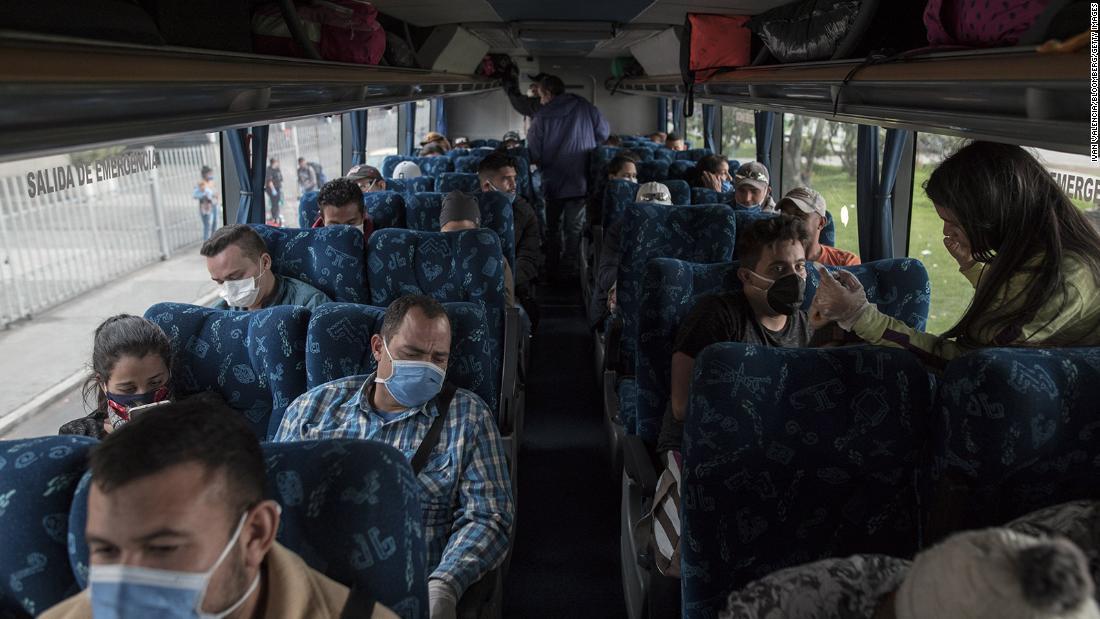 I rifugiati venezuelani tornano a casa in mezzo al coronavirus