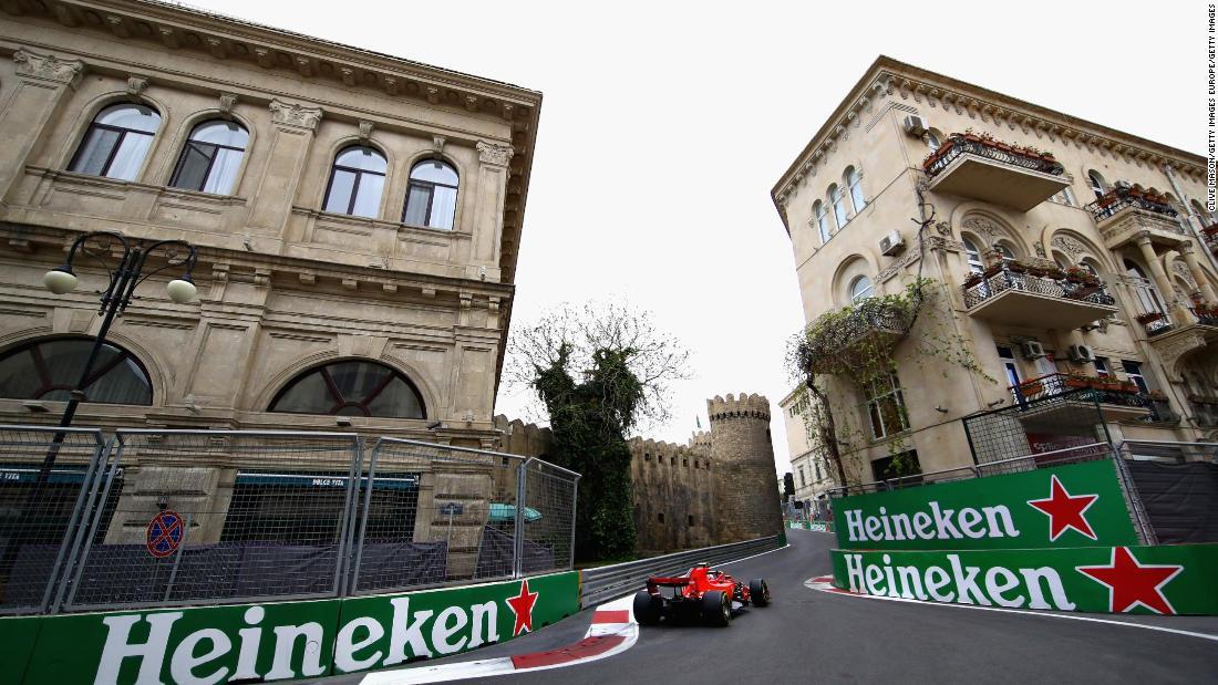 Gran Premio dell'Azerbaigian rinviato a causa della pandemia di coronavirus