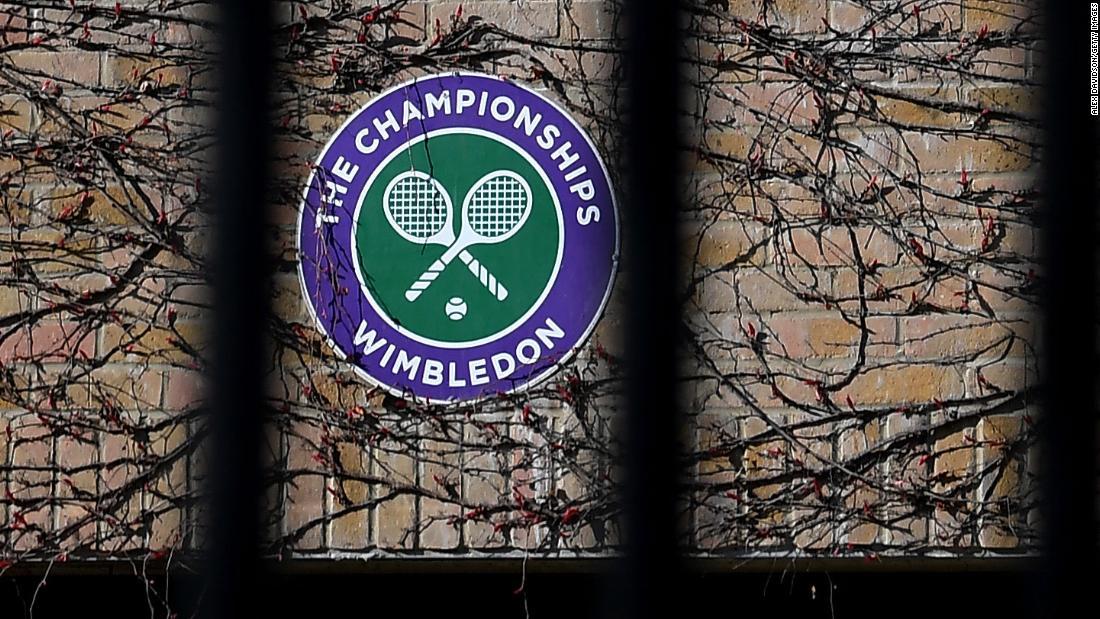 Wimbledon annullato a causa della pandemia di coronavirus