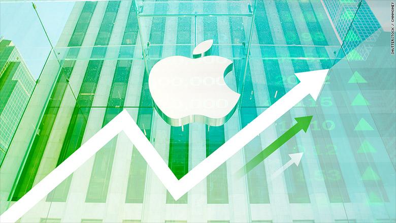 Le azioni di Apple raggiungono livelli record