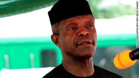 Il vicepresidente nigeriano Yemi Osinbajo.
