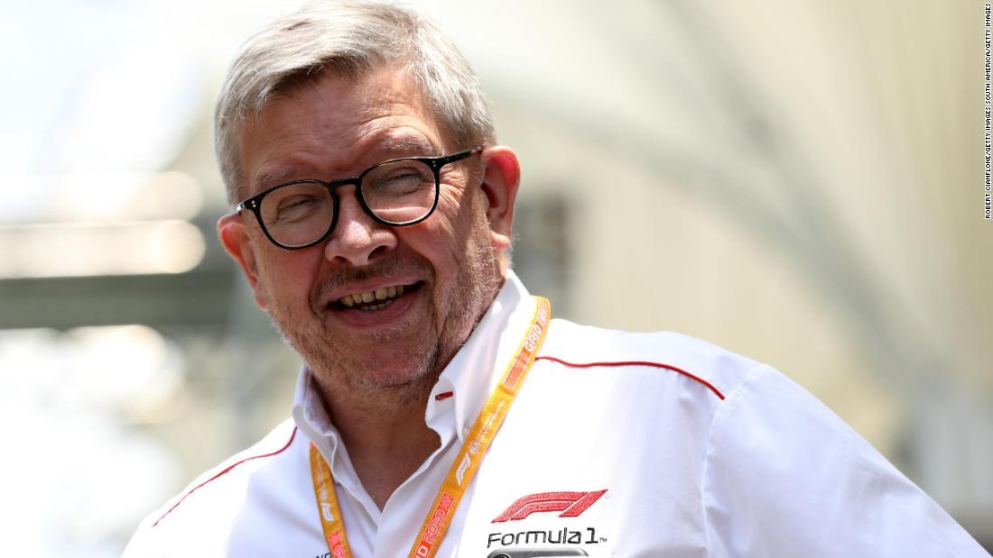 La stagione di F1 2020 potrebbe iniziare a porte chiuse, afferma l'amministratore delegato Ross Brawn