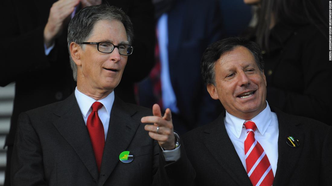 Legende dei proprietari di club di ardesia del Liverpool per l'utilizzo di aiuti pubblici per il personale in congedo