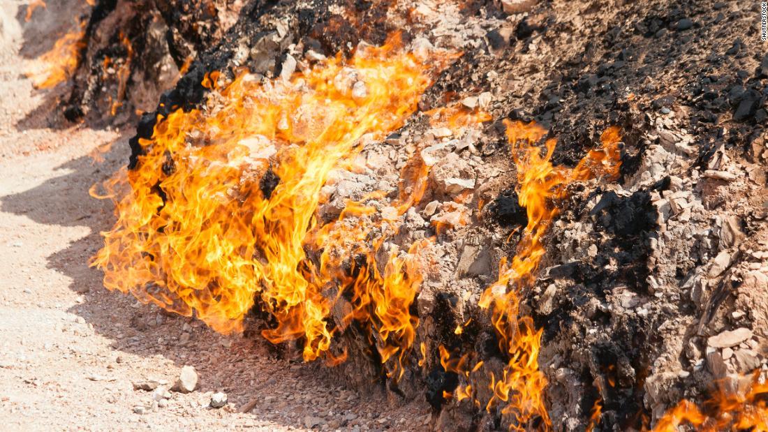 """La """"Terra del Fuoco"""" brucia da 4000 anni"""