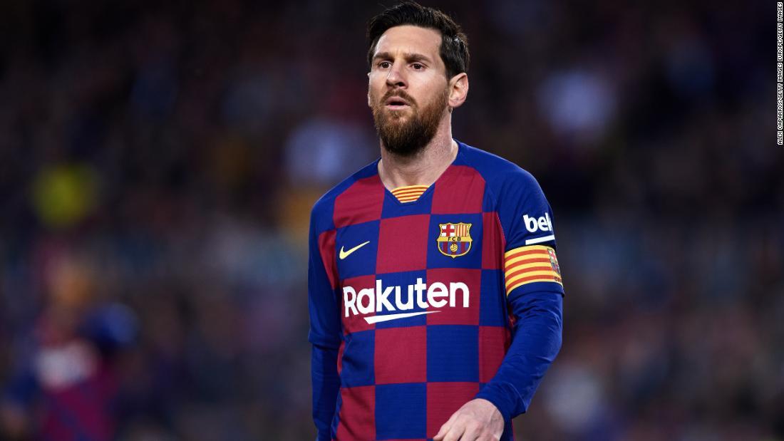 Lionel Messi e il team di Barcellona beneficeranno di una riduzione delle retribuzioni del 70% durante la pandemia