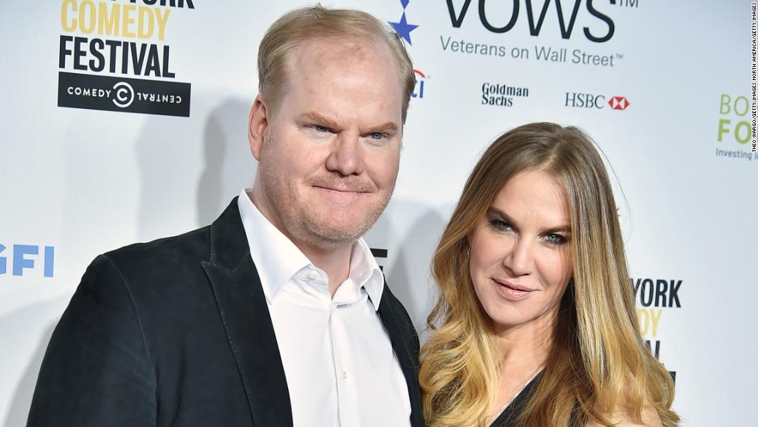 Jim Gaffigan e sua moglie cercano di alimentare la prima linea di New York
