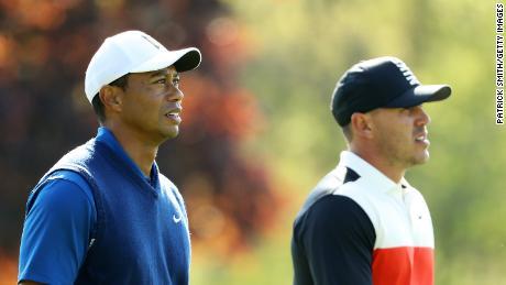 Koepka è stato paragonato al compagno americano Tiger Woods dopo la sua quarta vittoria importante.
