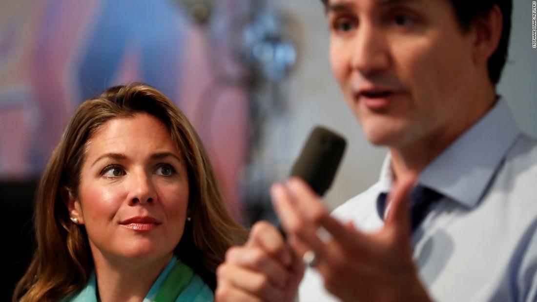 La moglie di Justin Trudeau, Sophie Trudeau, risulta positiva al coronavirus