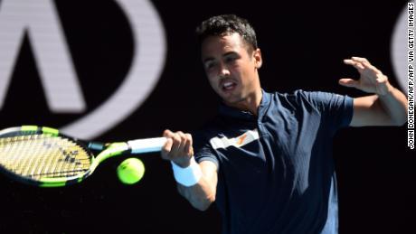 Hugo Dellien è stato il primo boliviano a suonare agli Australian Open