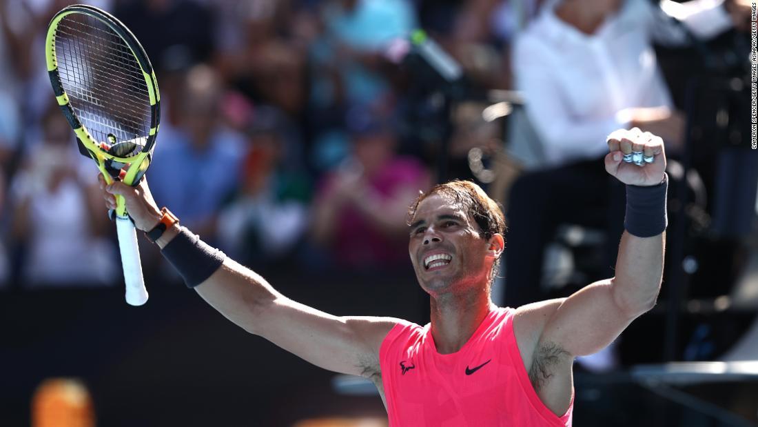 Rafael Nadal avanza al primo round degli Australian Open