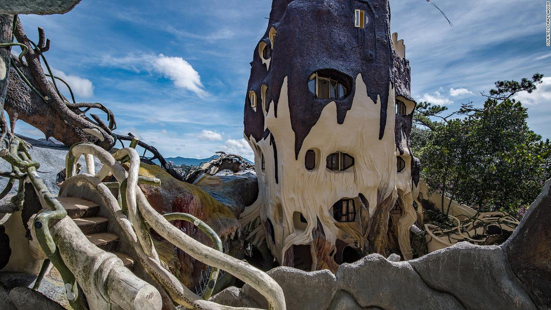 """Crazy House"" in Vietnam: la strana storia dell'Hang Nga Guesthouse a Dalat"