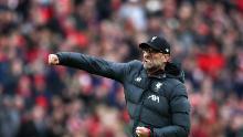 Il Liverpool aveva bisogno di altre tre vittorie per vincere la Premier League inglese prima della sospensione del calcio inglese.