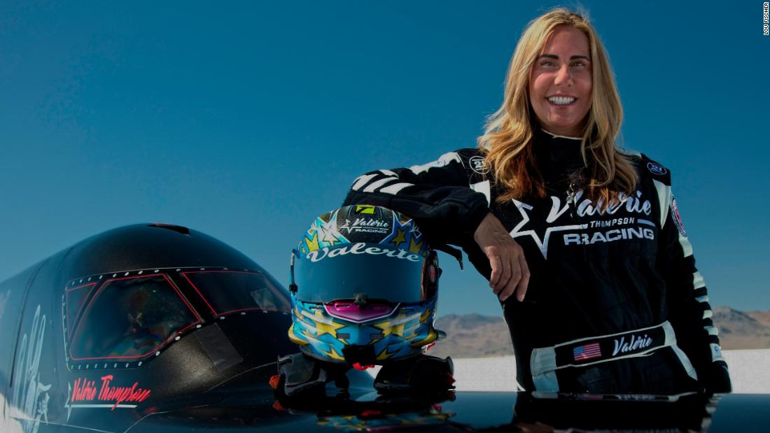 """Queen of Speed"" Valerie Thompson batte record e soffitti di vetro"