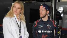 Goulding con Sam Bird, pilota Envision Virgin Racing a Marrakech.