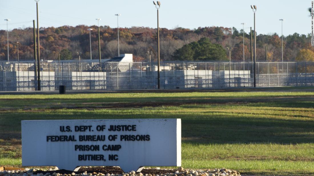 Il carcere della Carolina del Nord ha 60 detenuti, 23 membri del personale hanno il coronavirus