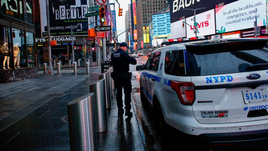 NYPD perde il 20 ° membro a Covid-19