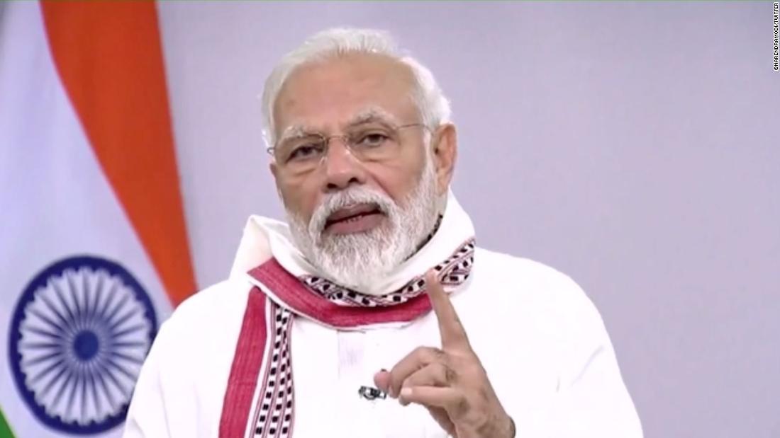India Modi estende il blocco nazionale del coronavirus fino al 3 maggio