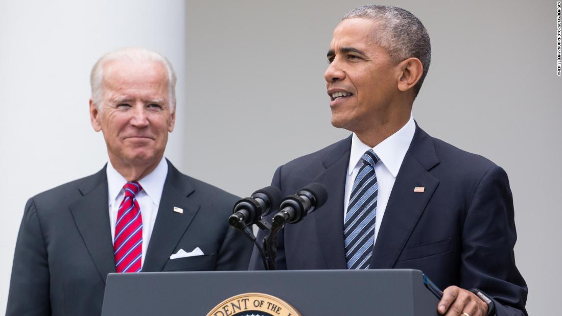 Obama sostiene il presidente Biden oggi