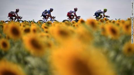 Il Tour de France di quest'anno è stato rinviato.