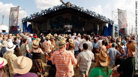 Il Festival di Jazz e Heritage di New Orleans è stato cancellato quest'anno. (Foto di Chris Graythen / Getty Images)