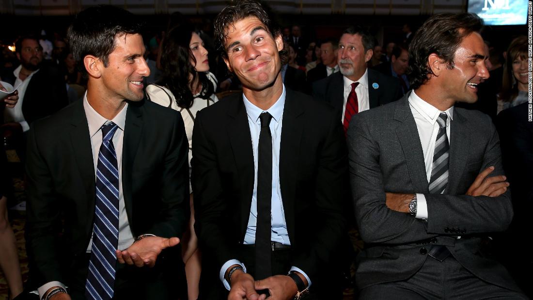 """Andy Murray pensa che i Big Three nel tennis siano GOATS: """"I tre migliori giocatori giocano in questa generazione"""""""