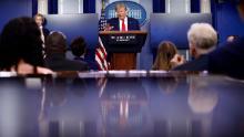 Trump e governatori in rotta di collisione per i test del coronavirus