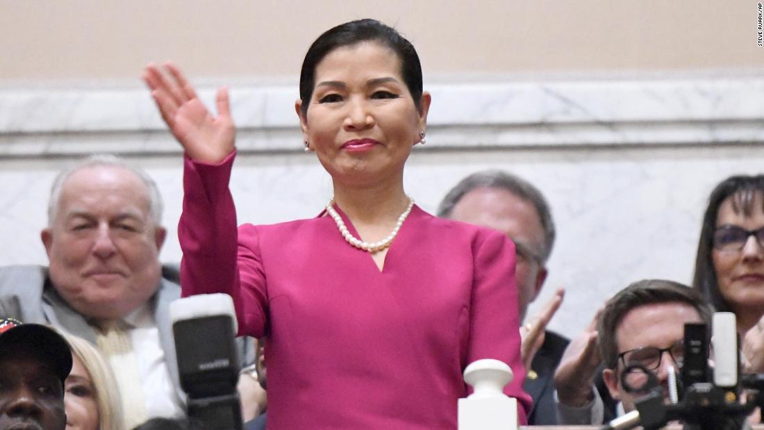 Yumi Hogan: la first lady del Maryland capitalizza la sua eredità sudcoreana per assicurarsi kit di prova