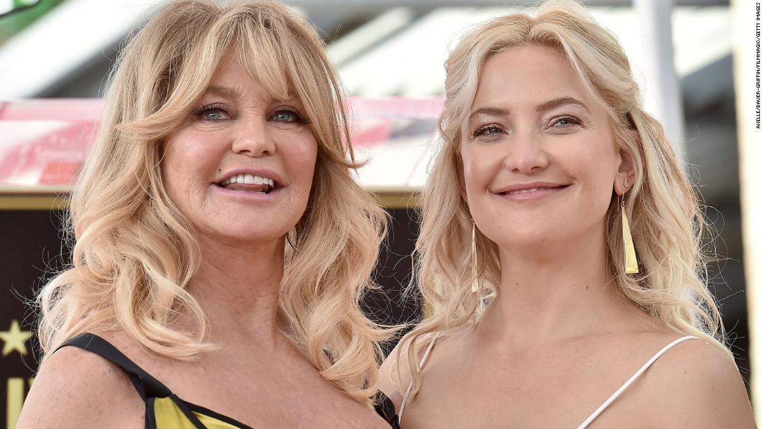 Goldie Hawn, Kate Hudson, piccola scriva la storia su People