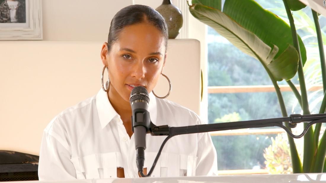 Alicia Keys lancia un potente inno in collaborazione con la CNN