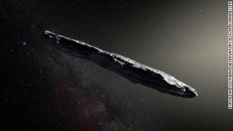 Come & # 39; Oumuamua, il primo visitatore interstellare del nostro sistema solare, è stato in grado di formarsi