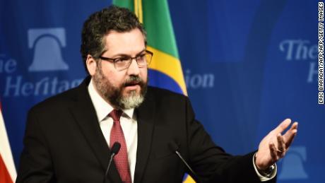 Il Brasile è & # 39; non il colpevole & # 39; per gli incendi di Amazon, afferma il ministro degli Esteri del paese