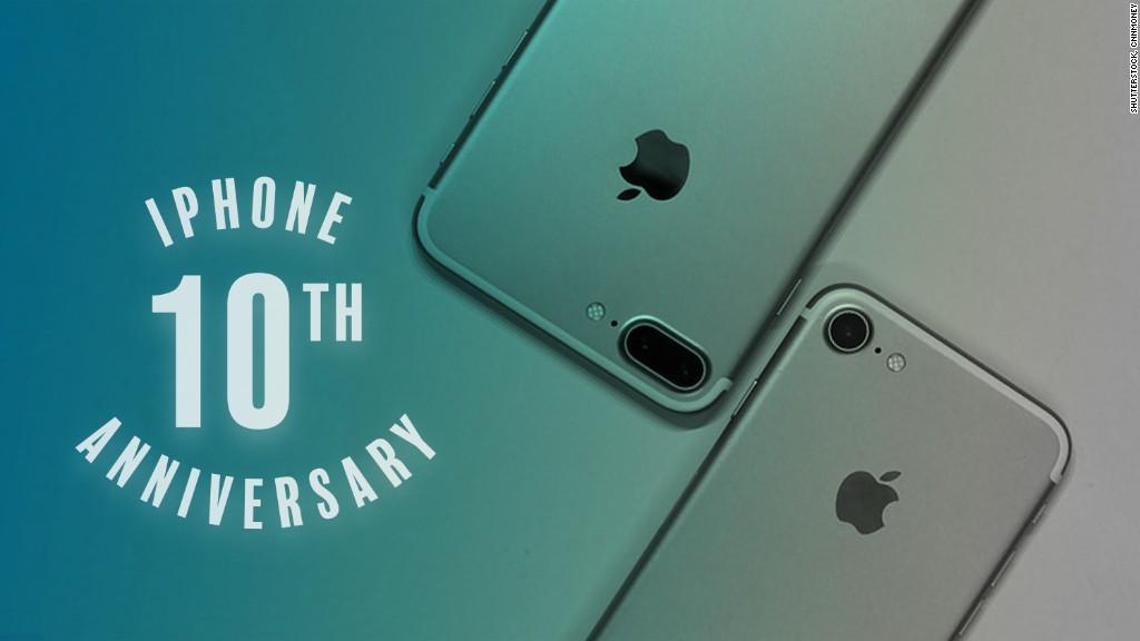 Buon 10 ° anniversario, iPhone