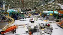 Boeing prevede di riavviare le fabbriche dello stato di Washington la prossima settimana