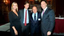 Ivanka Trump, Jared Kushner, Stanley Chera e Rob Stuckey partecipano al New York Observer e accoglie i maestri immobiliari al Metropolitan Club il 21 settembre 2011 a New York.
