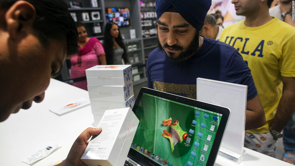 Apple cerca di produrre in India