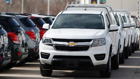 I concessionari Chevrolet offrono prestiti allo 0% in più di 84 mesi su molti modelli del 2019, incluso il pickup Colorado.