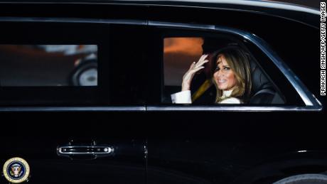 Melania Trump sottolinea l'importanza di prendere sul serio le maschere