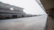 Una foto generale della pit lane sul Circuit of the Americas.