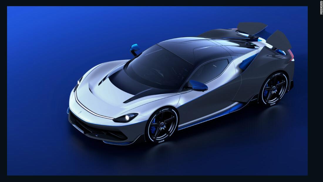 Pininfarina Battista Anniversario: una rara auto iper elettrica avrà un costo di $ 2,9 milioni