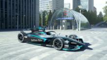 La Formula E rivela un nuovo design automobilistico con pinne simili a squali