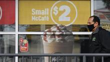 Le vendite di McDonald sono precipitate a causa del coronavirus