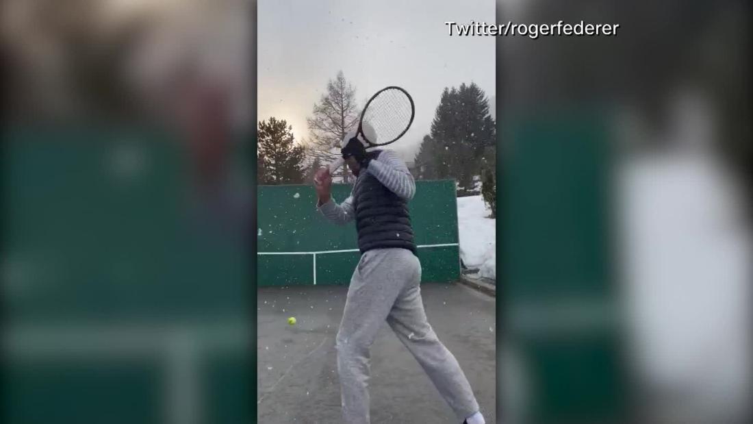 Roger Federer: il blocco del coronavirus non può impedire l'intrappolamento della stella