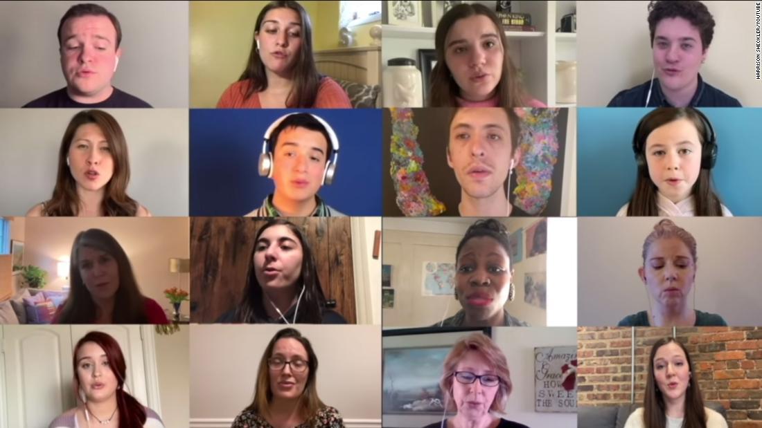 Lo studente di musica riunisce oltre 300 musicisti per creare un coro virtuale da suonare durante la pandemia
