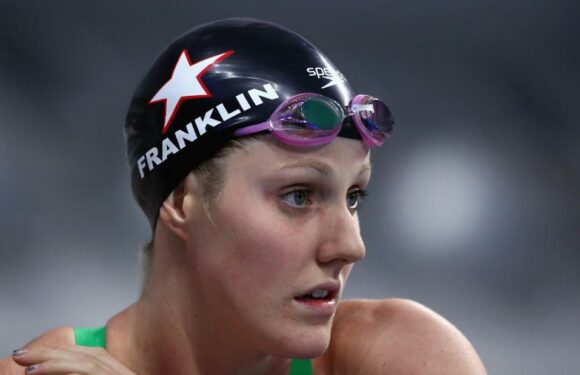La nuotatrice della medaglia d'oro olimpica Missy Franklin afferma che le lezioni di terapia aiutano a rinchiudersi