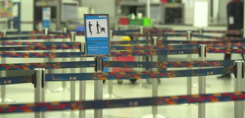 Gli aeroporti indiani iniziano a riaprire