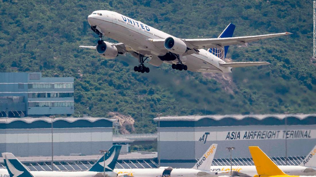 Delta e United Airlines hanno raggiunto le crescenti tensioni tra Stati Uniti e Cina