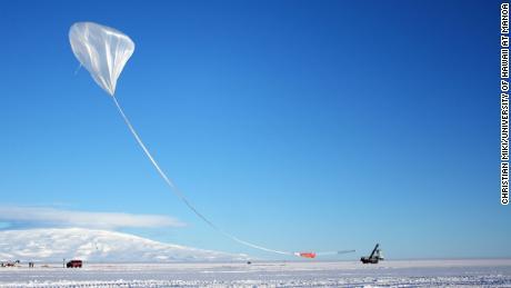 ANITA ha volato quattro volte dall'inizio degli esperimenti nei primi anni 2000.