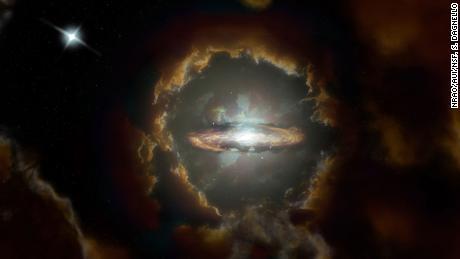 Gli astronomi trovano il disco di Wolfe, un'improbabile galassia, nel lontano universo