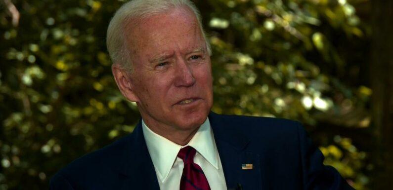 Joe Biden afferma di sperare di nominare una scelta presidenziale attorno al 1 ° agosto